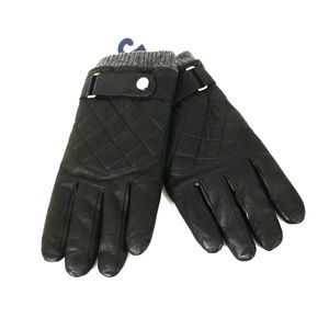 Polo Ralph Lauren Quilted Racing Gloves Size L